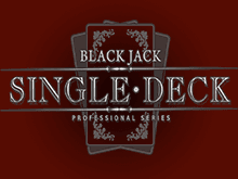 Играть в Single Deck Blackjack Professional Series онлайн